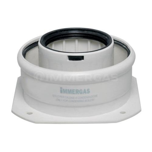 Фланец прямой коаксиальный для конденсационных котлов Immergas ø60/100 мм 3.012086