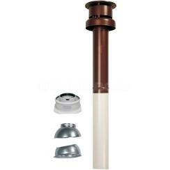 Коаксиальный дымоход для конденсационного котла вертикальный Immergas ø60/100 мм 3.016833