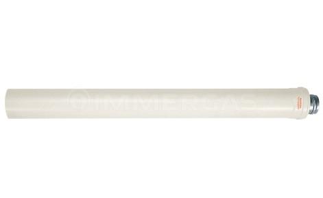 Труба-удлинитель коаксиального дымохода конденсационная Immergas L=0,5 м ø60/100 мм